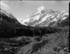 Mount Cook from Hooker Glacier