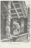 William Beattie & Company : Photograph of Maori guide, Sophia Hinerangi, at Te Rauru meeting house, Whakarewarewa