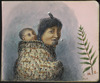 Baker, William George, 1864-1929 :N.Z. [Maori mother with infant. 1920-1925]