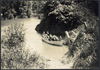 Children in a boat on the Mokau River