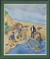 Kerr, Robert Edward, 1951- :[Terry and the gunrunners. Hold-up on the beach. 1982]