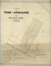 Plan of town of Ashbourne, being section no. 110, the property of C R Blaikston Esq. H P Blanchard & Son, surveyors [ca.1883?]. [ms map]