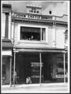 John Castle's chemist shop, 139 Riddiford Street, Newtown, Wellington - Photograph taken by Jack Short
