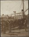 Soldiers boarding HMHS Salta