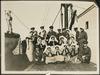 Staff on the deck of HMHS Salta