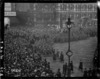 The WAACs marching in London at the end of World War I