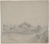 [Gilbert, George Channing] 1838-1913 :[Brookwood from the east, Omata / G C Gilbert] [ca 1860]