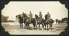 General Chaytor, Major Powles, and Lieutenant Bond on horse back, Egypt