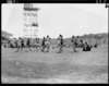 Runners in the three-mile event, 1950 British Empire Games, Eden Park, Auckland