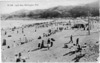 People on the beach at Lyall Bay, Wellington