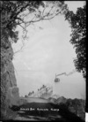 Ferry approaching the jetty at Arkles Bay, Auckland
