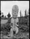 Carved figure, probably Wairoa district