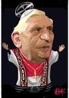Webb, Murray, 1947- :Pope Benedict XVl [ca 25 April 2005]