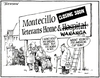 """Montecillo Veterans Home and Hospital/Wananga - closing soon. """"I won't hold my breath, Bert, but it's worth a try..."""" """"Wasn't room to put America's Cup team!"""" 10 May, 2005."""
