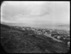 Part 1 of a 3 part panorama looking over Wellington City