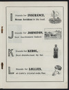 Artist unknown: The rhyming trades alphabet. [Page 3]. I stands for Insurance ... [1914].