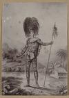 [Stewart, Charles Samuel] fl. 1820s-1830s :[Te Ipu, Marquesan chief. ca 1837]