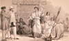 [Merrett, Joseph Jenner] 1815-1854 :Te Waro. L. Haghe, lith. Day & Haghe. London, J Murray [1843]