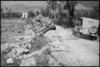 Abandoned Sherman tank on outskirts of Cassino, Italy, World War II - Photograph taken by George Kaye
