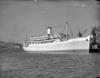 Cruiseship Orion berthed at Pipitea Wharf, Wellington