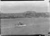 Creator unknown :Photograph of ferry Toroa in Auckland Harbour