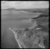 View over Mission Bay and Jellicoe Point with the settlement of Motutere Bay and State Highway 1 north on the eastern side of Lake Taupo