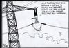 """""""As a power company exec earning a fortune, I promise that brackets holding our high voltage cables will be checked regularly for corrosion."""" 30 June, 2006"""