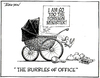 """The burbles of office"". ""I am so too the Foreign Minister. 24 November, 2005."
