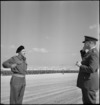 Lieutenant Colonel J T Burrows after receiving the DSO at Maadi, World War II - Photograph taken by M D Elias