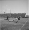 Waddick after touching down in the NZEF v Rest of Egypt rugby match at Alexandria, Egypt - Photograph taken by M D Elias