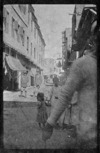 Street scene with World War I soldiers from New Zealand