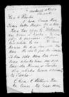 Letter from Te Wirihana and Hauhau to Rhodes