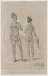 Postels, Aleksandr, 1801-1871 :Indigeni d'ambi i sessi alle Caroline [1826-29]. [1838-43].