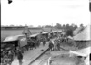 A convoy leaving the New Zealand Stationary Hospital for the ambulance train, France, World War I
