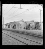 Old (replaced) railway station at Porirua
