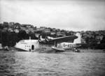 Short flying boat Centaurus, Evans Bay, Wellington