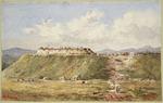 Atcherley, Henry Mount Langton :Redoubt, Maketu, New Zealand  [1864?]