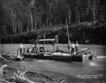 Dredging on the Buller River