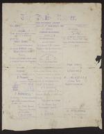 Vol II No 1. Bulls 1st November 1881: Bull's Roarer and Tutaenui Skunk