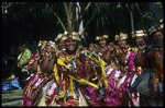PA12-7303-09: Tuvalu women performing at the 8th Festival of Pacific Arts, Noumea, New Caledonia