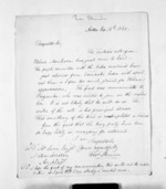 2 pages written 12 Sep 1860 by Rev Thomas Skinner in Aotea Harbour to Sir Donald McLean in Auckland City, from Inward letters - Surnames, Sin - Sma