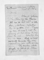 3 pages written 9 Dec 1848 by Rev Thomas Skinner to Sir Donald McLean in New Plymouth, from Inward letters - Surnames, Sin - Sma