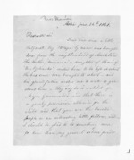 3 pages written 24 Jun 1861 by Rev Thomas Skinner to Sir Donald McLean in Auckland Region, from Inward letters - Surnames, Sin - Sma