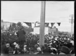 Anzac day commemoration at Petone