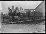 Uc Class steam locomotive, New Zealand Railways no 368, 4-6-0 type.