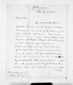 2 pages written 17 Sep 1860 by Rev Thomas Skinner to Sir Donald McLean, from Inward letters - Surnames, Sin - Sma
