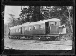 Thomas transmission rail motor car, 1916