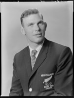 Peter Snell, athlete with New Zealand Olympic Team. Rome, 1960