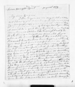 4 pages written Aug 1859 by Ann Skinner, from Inward letters - Surnames, Sin - Sma