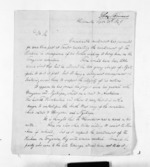 4 pages written 25 Sep 1849 by Rev Thomas Skinner to Sir Donald McLean in New Plymouth, from Inward letters - Surnames, Sin - Sma